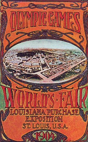 1904 summer olympics poster