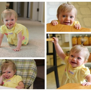 My baby niece Collage