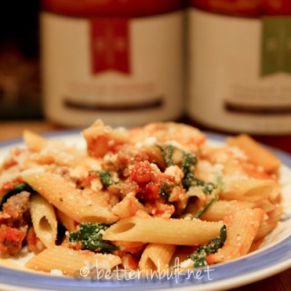 Rose Romano's Sausage and Pepper pasta recipe