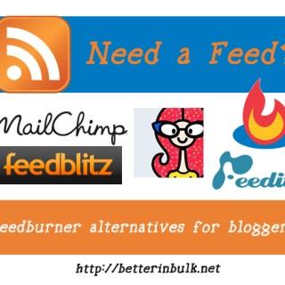 feedburner-alternatives