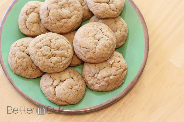 Chewy Ginger Cookies with I Can't Believe It's Not Butter