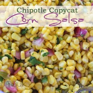 Corn Salsa – Chipotle Copycat Recipe