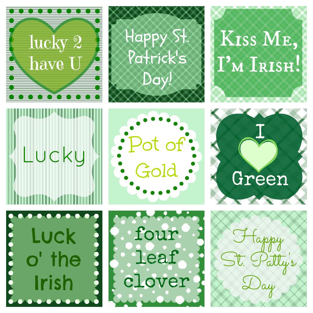 Free St Patrick S Day Printables