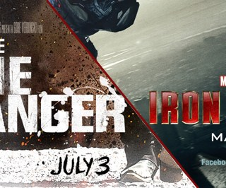 New Disney's Iron Man 3 + Lone Ranger Sneak Peek