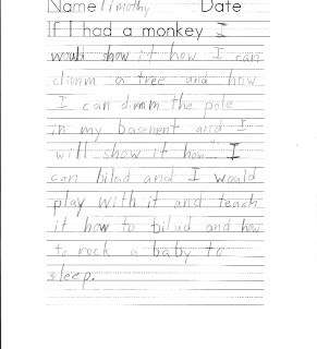 Who needs a nanny when you have a monkey around?