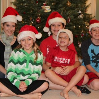The 2012 Santa Hat Picture – Wordless Wednesday