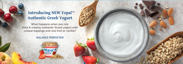 yopa! greek yogurt