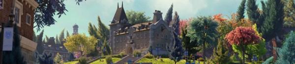 Monsters University campus