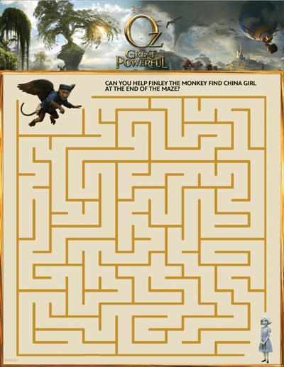 oz-maze