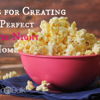 3 Tips for Creating the Perfect Movie Night at Home