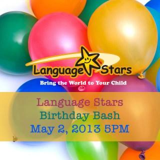 Language Stars DC Free Birthday Bash