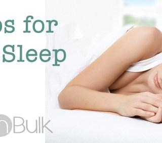 6 Critical Steps to Better Sleep #BetterSleep