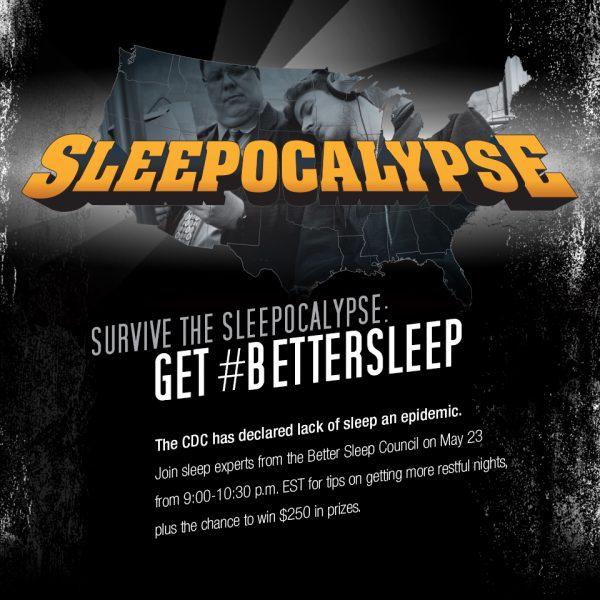 Sleepocalypse - get #bettersleep twitter party