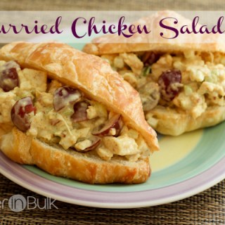 Curried Chicken Salad – An Amazing Summer Lunch Recipe
