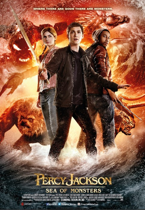 Percy Jackson Sea of Monsters Poster2