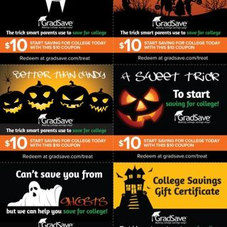 GradSave Halloween coupons
