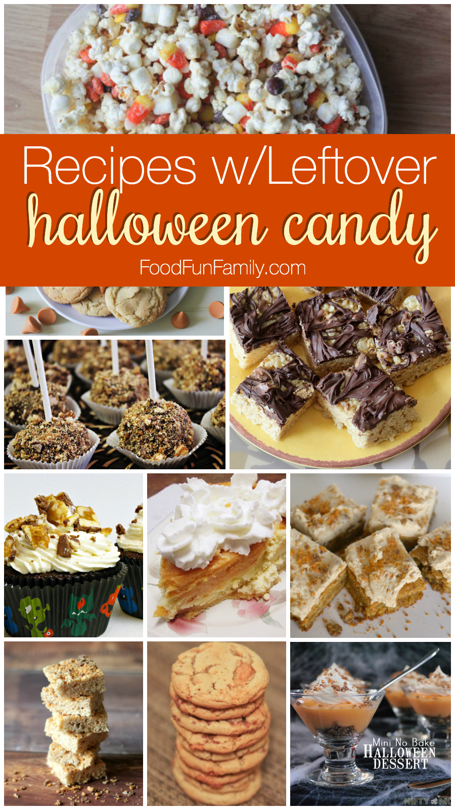 Recipes using leftover Halloween candy (plus a few crafts!) - The best ways to use up all of your trick or treating candy