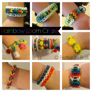 The Rainbow Loom Craze – Wordless Wednesday