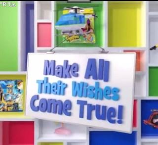 "Sponsored Video: Toys""R""Us Makes Happy Kids #WishinAccomplished"
