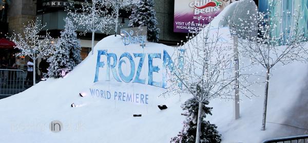 Disney Frozen white carpet-1
