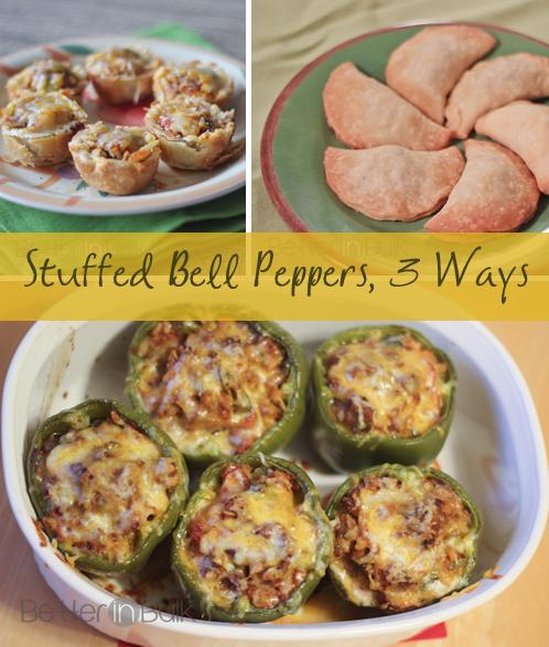 stuffed-bell-pepper-3-ways