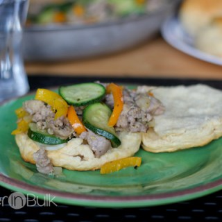 Sausage and Zucchini Biscuits #15MinuteSuppers