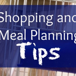 Shopping and Meal Planning Tips – Facts Up Front