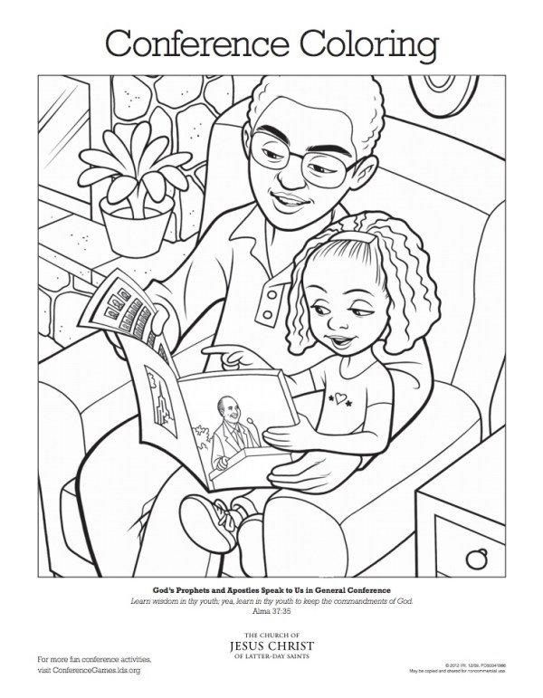 lds general conference coloring-pages