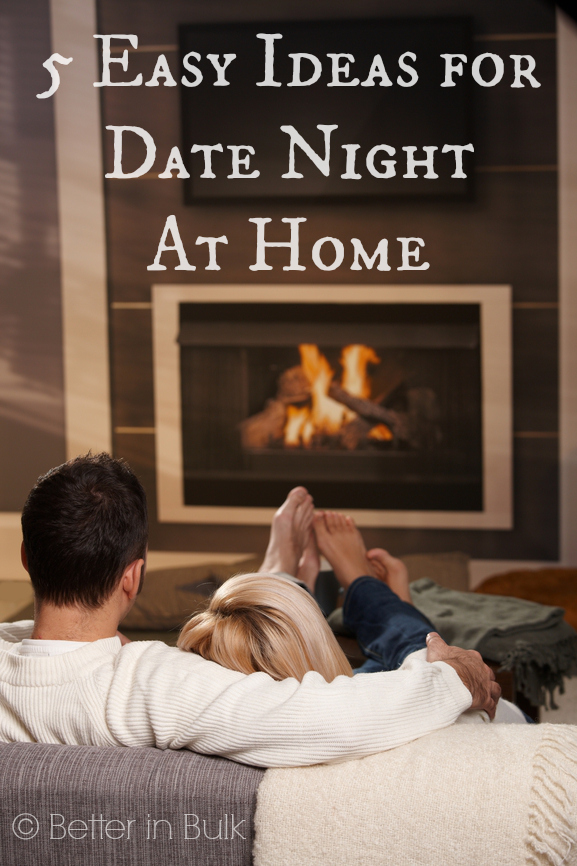 5 Easy Ideas for Date Night At Home