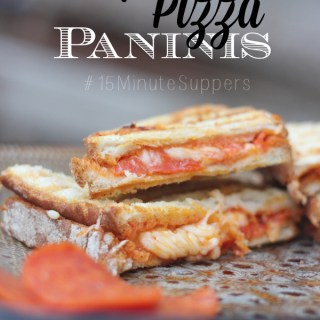 Pepperoni Pizza Panini Recipe