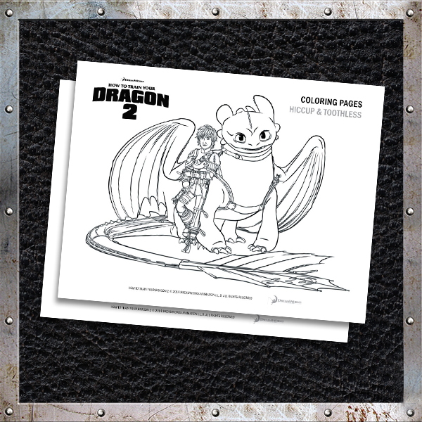 HOW TO TRAIN YOUR DRAGON 2 © 2014 DREAMWORKS ANIMATION L.L.C. ALL ...