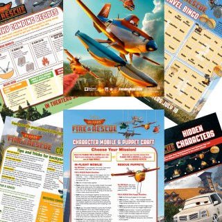 The Ultimate Disney's PLANES FIRE AND RESCUE Activity Kit #FireAndRescue