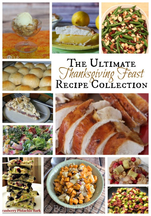 The Ultimate Thanksgiving Feast Recipe Collection