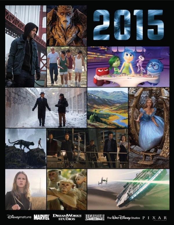 2015 Walt Disney Studios movies