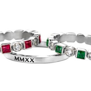 Stackable rings from Jostens