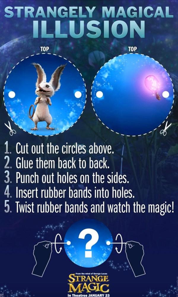 Strange Magic - illusion