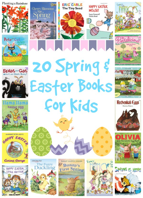 20 spring and easter books for kids