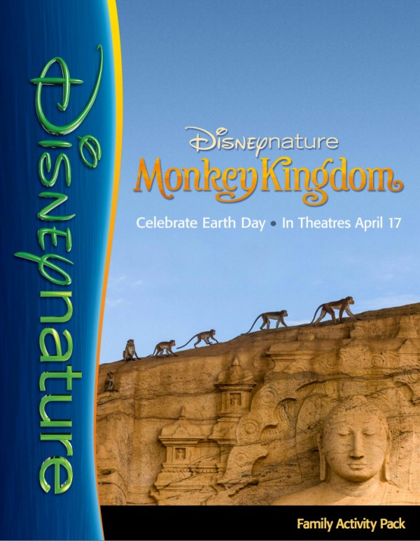 Monkey Kingdom Family Activity Pack