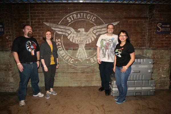 The old S.S.R. HQ - MARVEL'S AGENTS OF S.H.I.E.L.D. - Bloggers event (ABC/Adam Taylor)