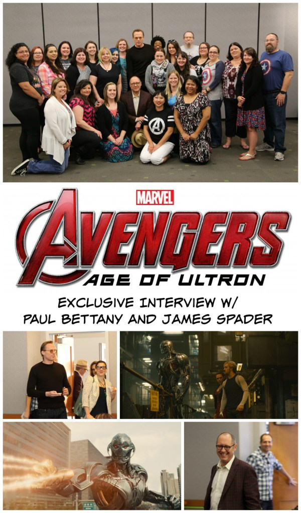 Avengers Age of Ultron Interview with James Spader and Paul Bettany