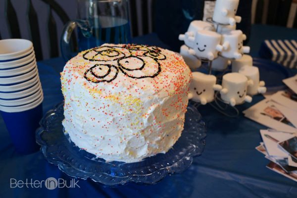 Gallifrey Cake - Doctor Who Party