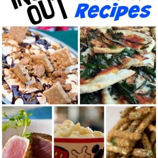 Inside Out Recipe Round Up {Disney Parks Copycat Recipes}