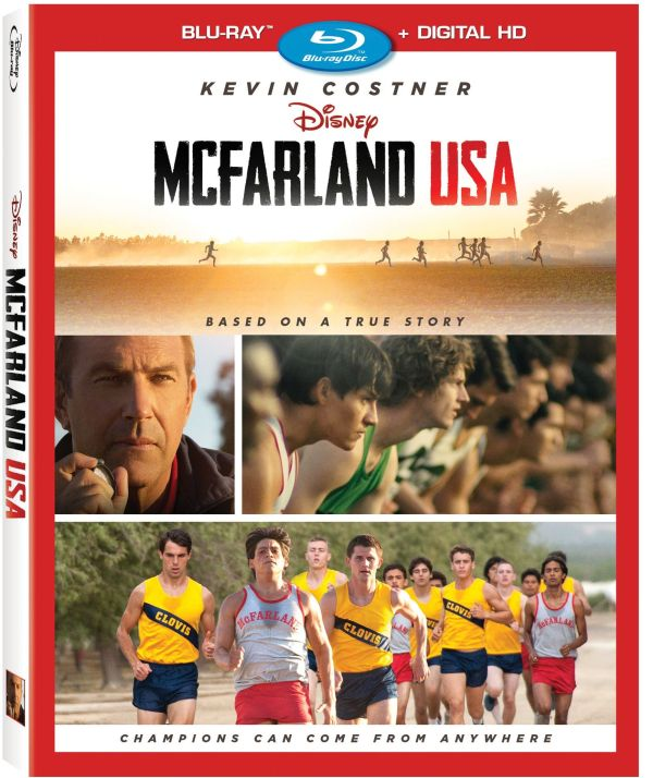 McFarland USA blu-ray disk and extras