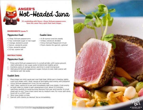 hot headed tuna
