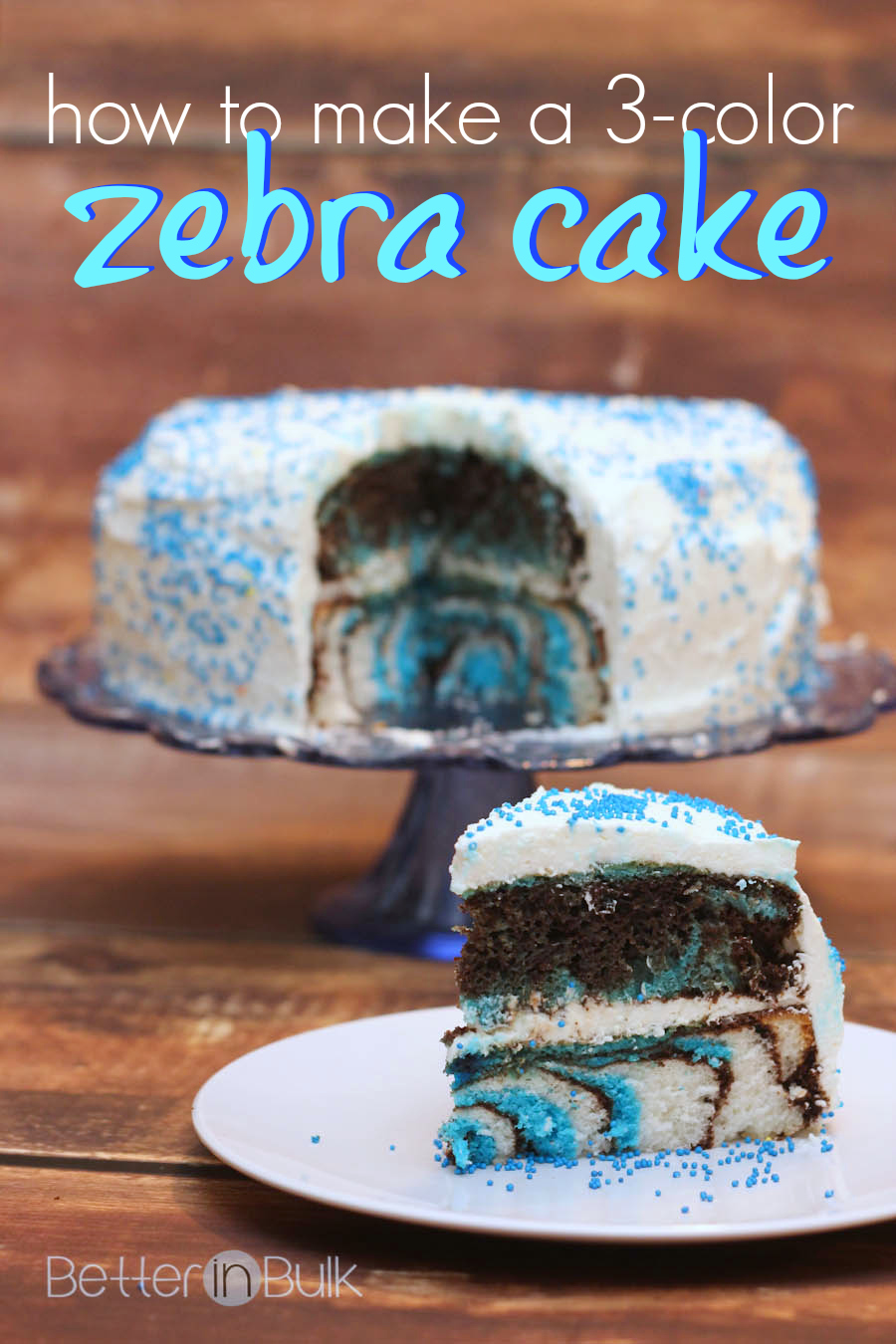 How To Make Zebra Cake Mix