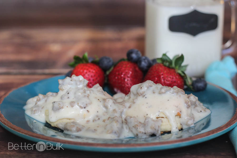 Classic Southern Biscuits and Gravy
