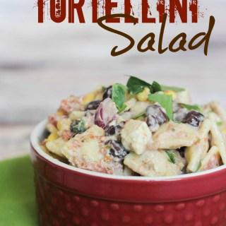 Mexican tortellini salad