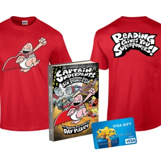 Captain Underpants prize pack