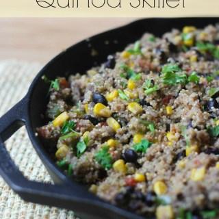 Tex-Mex Sausage Quinoa Skillet
