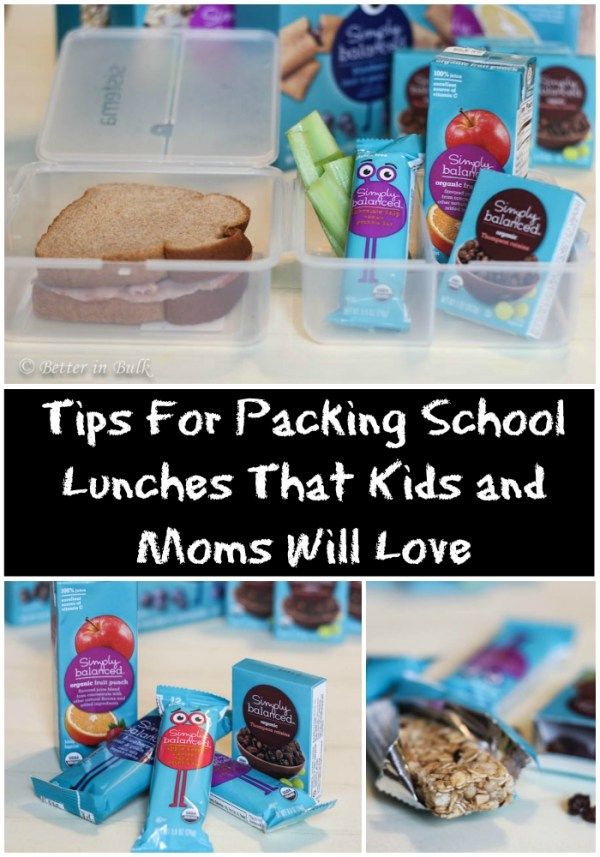 Tips For Packing School Lunches That Kids and Moms Will Love by Better in Bulk